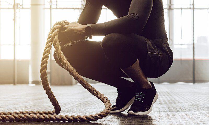 La corda giusta per il battle ropes