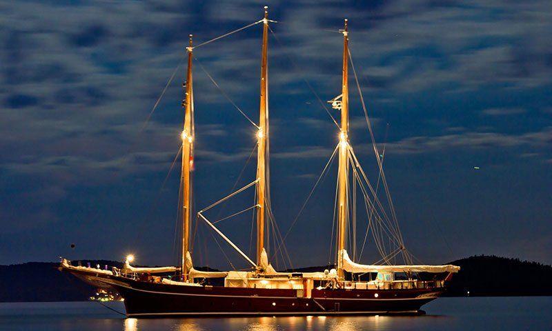 In barca di notte