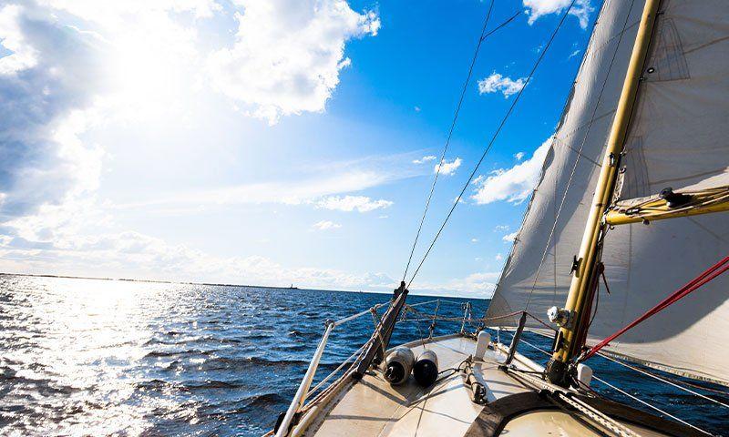 Sartiame delle barche a vela