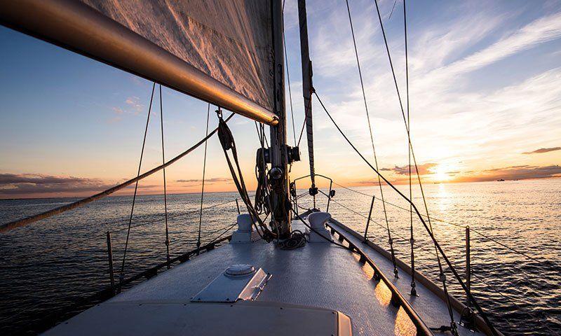 Scotte e drizze in barca a vela