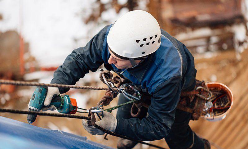 La sicurezza per i lavori in quota in edilizia